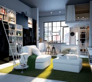 Kreativlösungen Für Kleine Wohnungen. %d0%b0%d0%b2127
